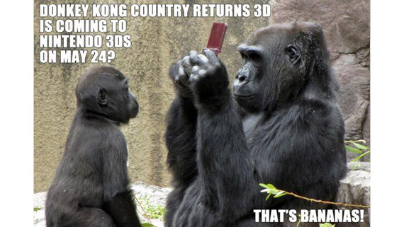 Donkey Kong Country Returns 3D - That's BANANAS