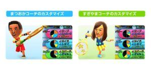 3DS マリオテニス オープン Mii カスタマイズ