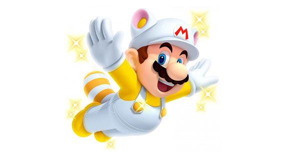 3DS New スーパーマリオブラザーズ2 しろしっぽマリオ
