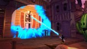 """ペイントやイレーサーを使った謎解きを紹介する『Epic Mickey 2: The Power of Two』""""Paint and Thinner""""ゲームプレイトレーラー"""
