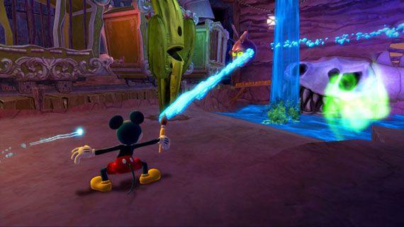 Wii U版Epic Mickey 2