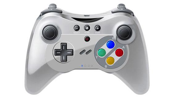 Wii U PRO Controller - SNES Style