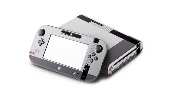 Wii U Skin - Retro Hrizontal