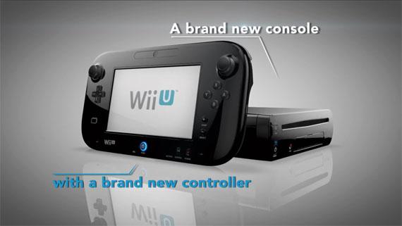 Wii U A brand new console