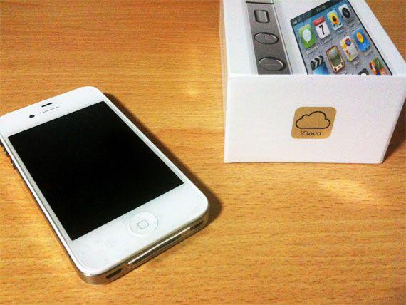 iPhone 4Sへ機種変更完了!! ホワイトかわいいよホワイト