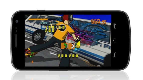 Jet Set Radio HD for iOS and Android