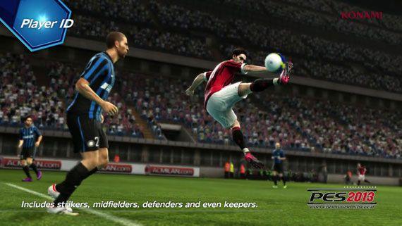 PES 2013 PlayerID ProActive AI Gameplay Video 01 [E3 2012]
