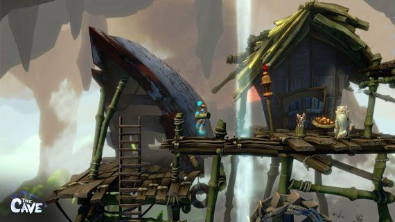 The Cave Is Coming To Wii U