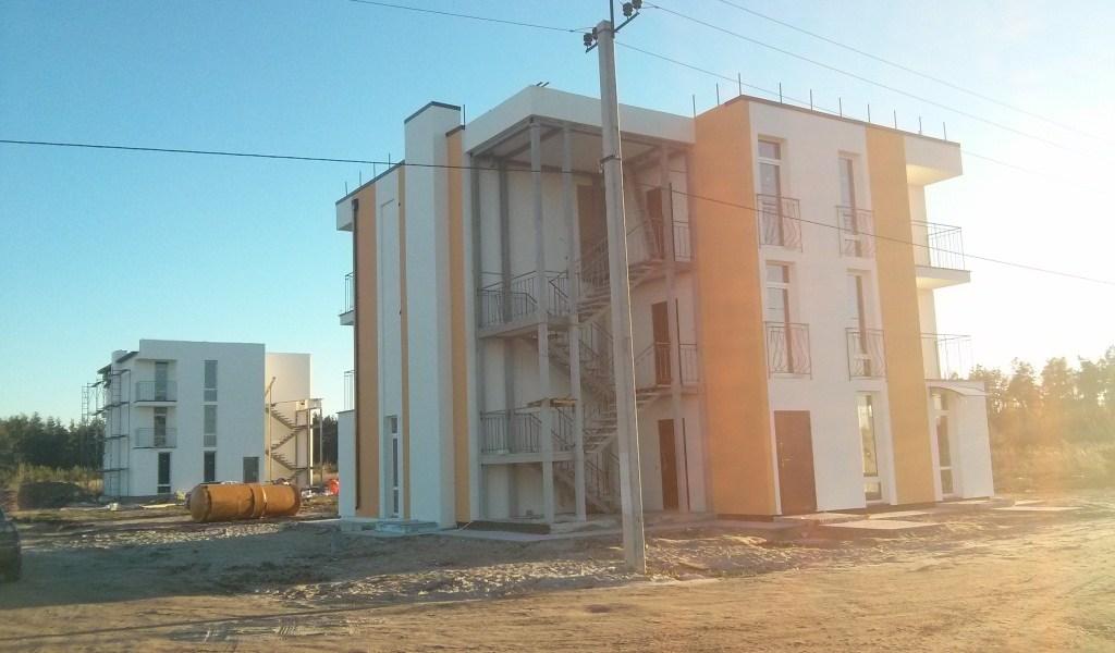 Коттеджный городок построенный на основе ТААСС
