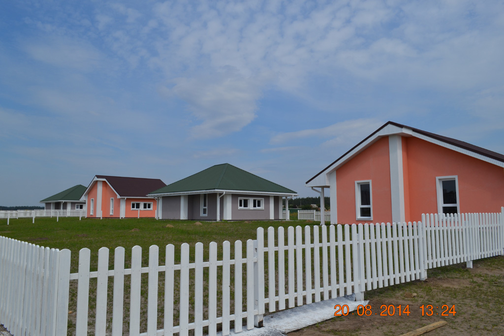 Energy-efficient cottages based on the TAABS technology in Ukraine