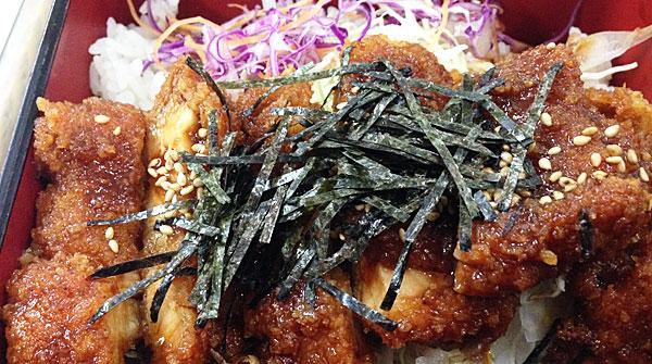 桜島鶏ソースかつ膳