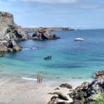 TheoDom : baignade l'après-midi à Belle-île-en-Mer