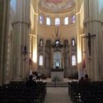 Choeur de la basilique de Paray-le-Monial