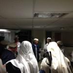 Breifing du matin avec les hospitalières du Rosaire