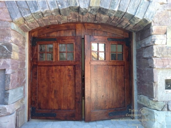 wood garage door carriage doors