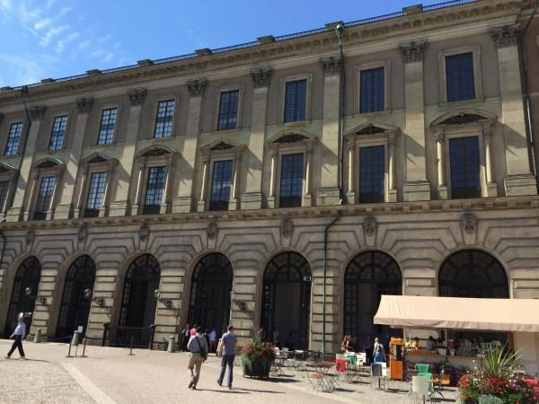 スウェーデン ストックホルム 宮殿・ガムラスタン