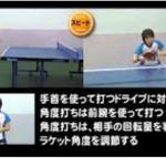 【国際卓球】卓球王国 表ソフトの教科書DVD