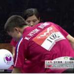 【世界卓球2015 蘇州】混合ダブルス準決勝  吉村・石川組