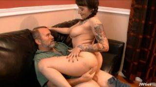 JWties Camille Black – Cum Inside Daddy