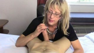 Your Friends Are Gonna Be So Jealous: Mom Gives Son Sloppy Blow Job