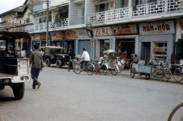 Đường Ngô Quyền ở trung tâm thị xã Cần Thơ.