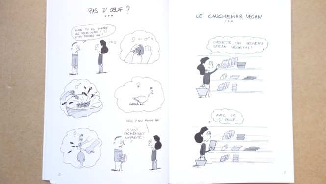 Mes lectures #2 - Insolente Veggie oeufs