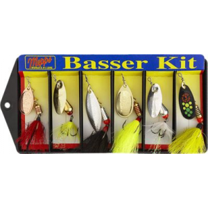 Mepps K2D Dressed Basser Kit - Black