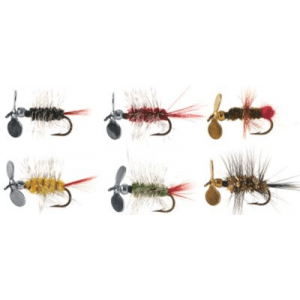 Pistol Pete Trout Fly Assortment - Black