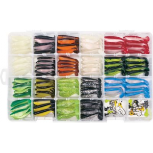 Mister Twister 226-Piece Sassy Shad Kit - Black