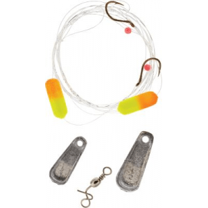 Lindy Crawler/Leech Hook Floating Rig - Orange