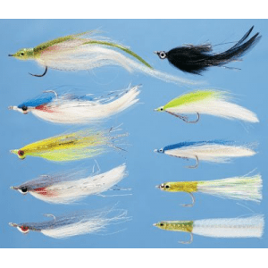 Umpqua 10-Piece Striper/Bluefish Assortment - White