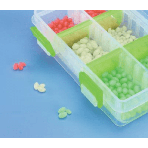 Cabela s 600-Piece Glow Egg Shaped Bead Kit (MED)