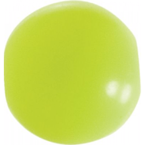 Cabela's Fisherman Series Round Plastic Beads - Per 100 - Chartreuse (4 MM)