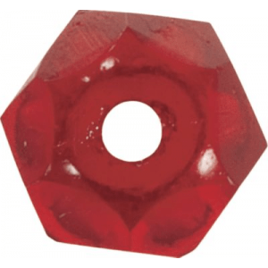 Cabela's Fisherman Series Faceted Glass Beads - Per 100 - Ruby Red (5 MM)