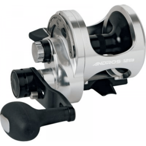 Okuma Andros 2-Speed Casting Reel - Stainless