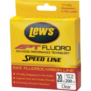 Lew's APT Fluorocarbon Speed Line - Transparent Clear