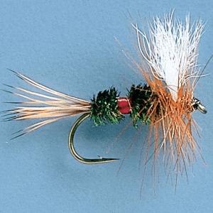 Cabela's Royal Wulff Dry Flies - Per Dozen - Peacock