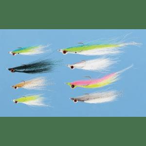 Cabela's 16-Piece Clouser Fly Assortment - Chartreuse