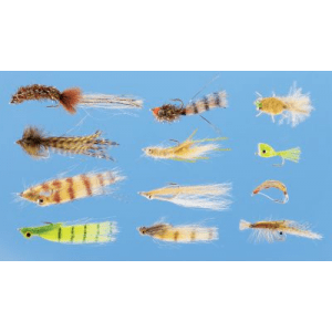 Cabela's 12-Piece Redfish Fly Assortment - Chartreuse