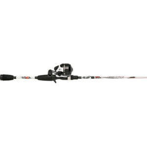 Abu Garcia Ike Dude Spincast Combo - Stainless Steel