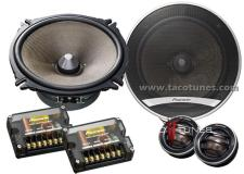 Pioneer TS-D1720C Component Speakers Toyota Tundra