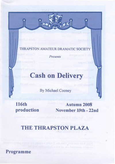 2008 – Cash On delivery