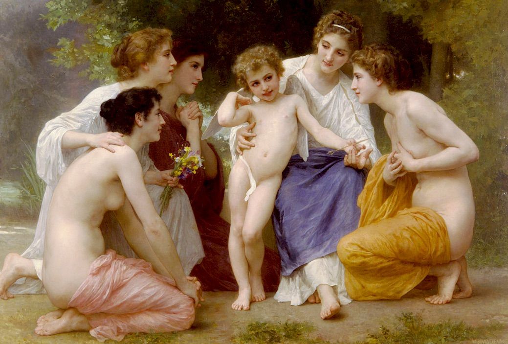 William-Adolphe Bouguereau-Admiration (1897)