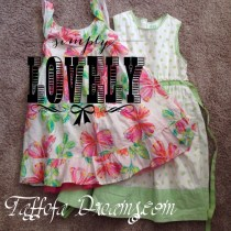 repurposing flowered cotton sundresses
