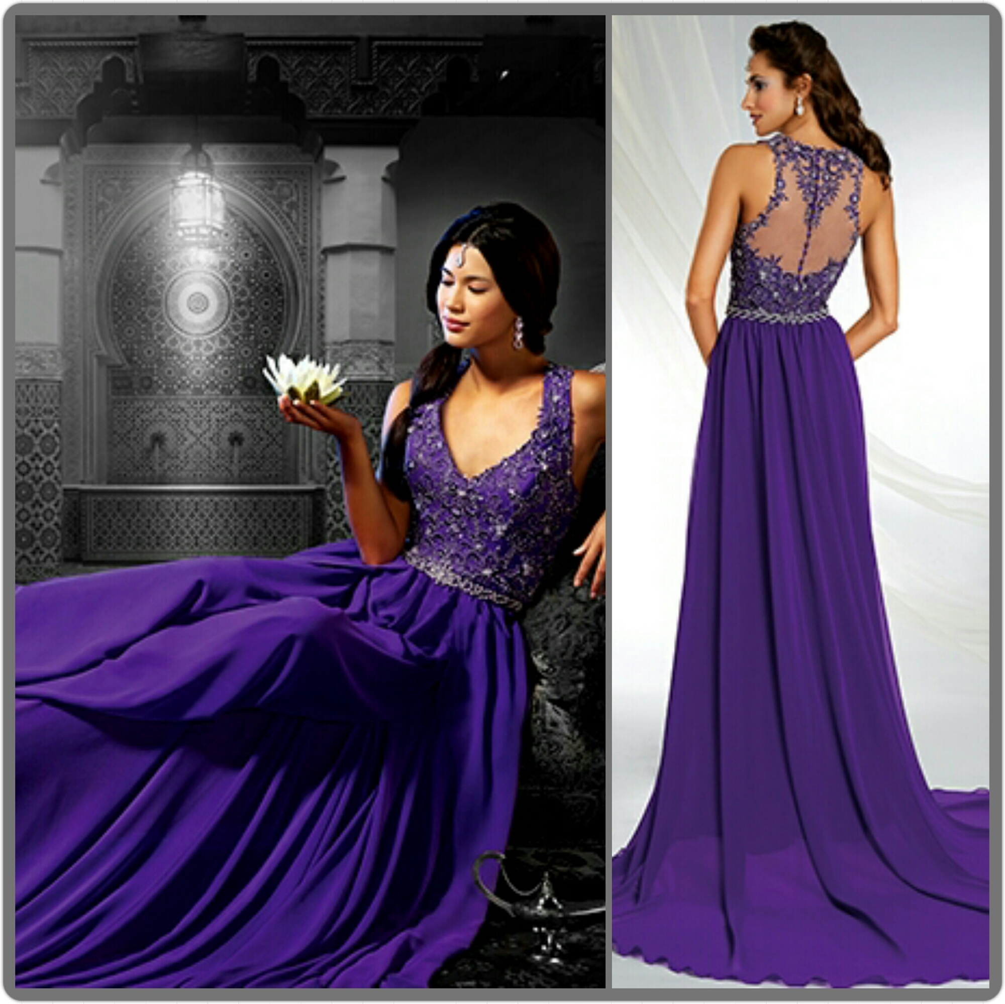 Amusing This Beauty Purple Tagweddings A Ballgown Will Definitely Be Wedding Gowns Black Velvet Bodice Purple Satin Ballgown Wedding Dress Shades wedding dress Purple Wedding Dresses