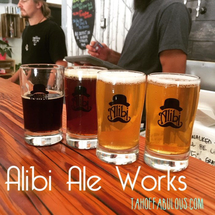 Alibi Ale Works // Incline Village, NV