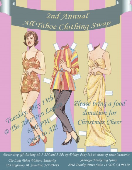 2014 All Tahoe Clothing Swap