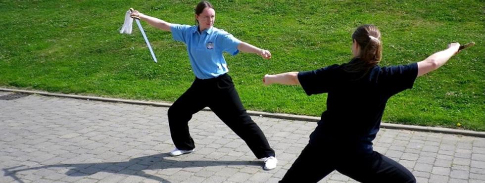 Sword Combat Outdoors