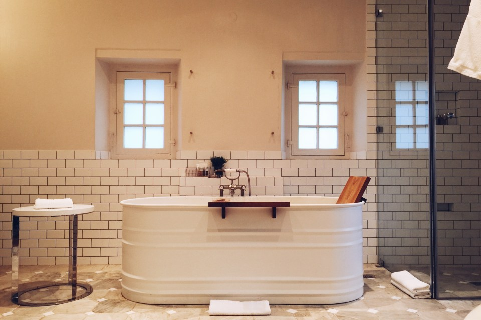 Babylonstoren bathroom