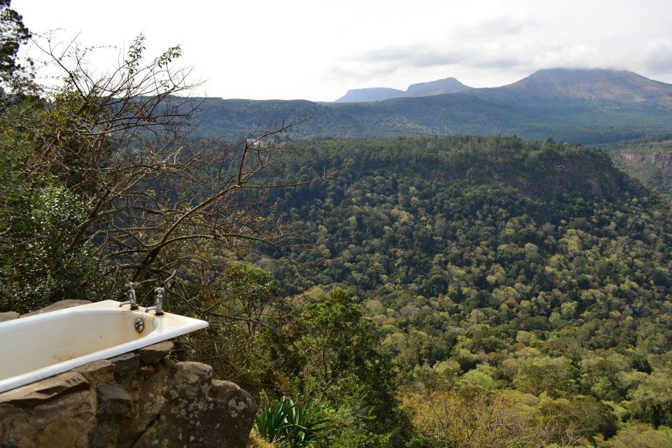 away with the fairies hogsback outdoor bath with a view